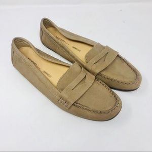 Rockport | Camel Washable Leather Driving Loafers